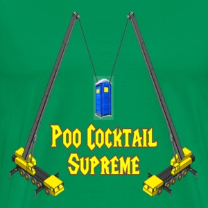 Sage Poo Cocktail Supreme Jackass T-Shirts - Men's Premium T-Shirt