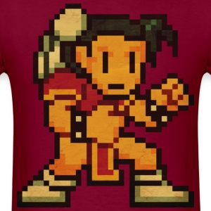 Pixelfighter KungFuGirl T-Shirts - Men's T-Shirt