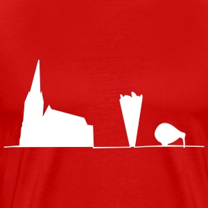 Christchurch earthquake relief t-shirts T-Shirts - Men's Premium T-Shirt