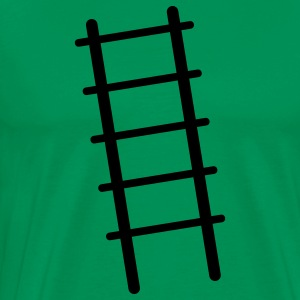 simple ladder steps up CLIMB T-Shirts - Men's Premium T-Shirt