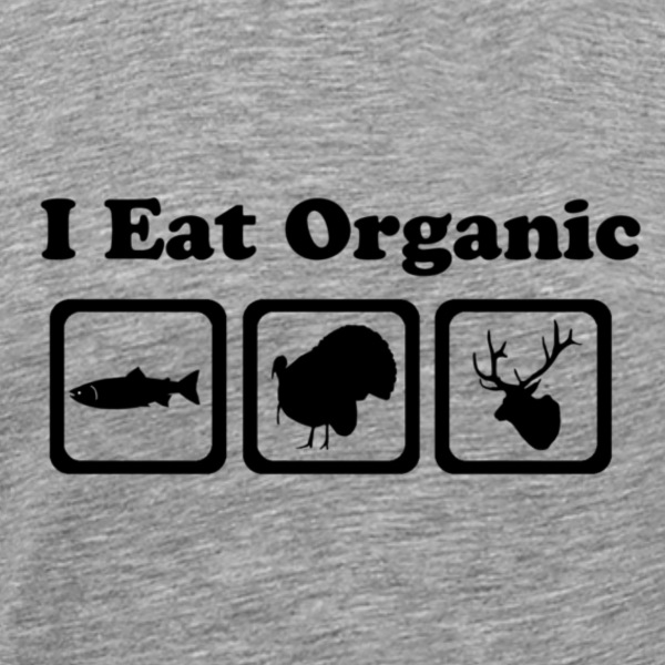 Eat Organic Animals T-Shirts - Men's Premium T-Shirt