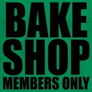 BAKE SHOP MEMBERS SHIRT BLK T-Shirts - Men's Premium T-Shirt