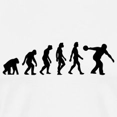 Evolution Bowling (1c) T-Shirts