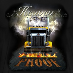 Heaven Sent and Hell Proof T-Shirts - Men's Premium T-Shirt
