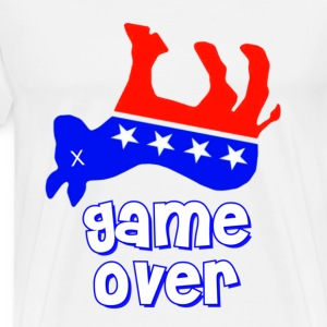 Democrats Game Over T-Shirts - Men's Premium T-Shirt