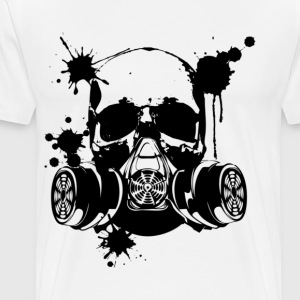 Gas Mask Grim 3 - Men's Premium T-Shirt
