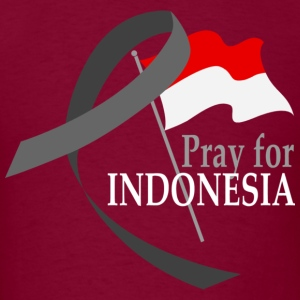 Pray for Indonesia - Men's T-Shirt
