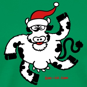 Christmas Cow T-Shirts - Men's Premium T-Shirt