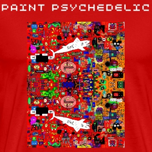 PAINT PSYCHEDELIC - Men's Premium T-Shirt