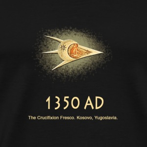 UFO 1350 AD Ancient Astronauts - Men's Premium T-Shirt