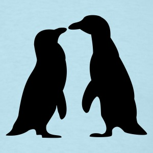 Penguins in love - love each other penguins T-Shirts - Men's T-Shirt