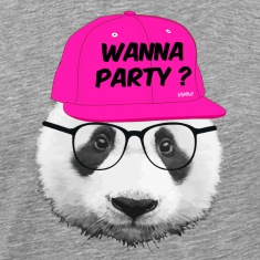 panda wanna party T-Shirts