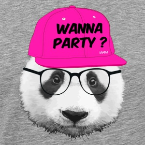 panda wanna party T-Shirts - Men's Premium T-Shirt
