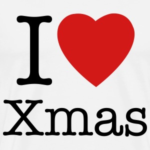 I love Christmas t-shirt - Men's Premium T-Shirt