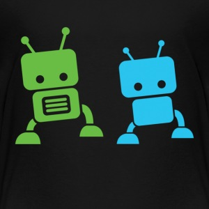 2 baby robots Toddler Shirts - Toddler Premium T-Shirt