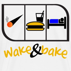 Wake and Bake - Men's Premium T-Shirt