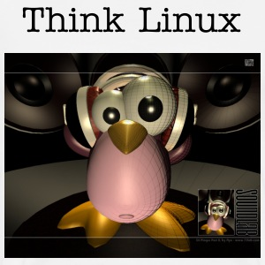 THINK LINUX #14 - Men's Premium T-Shirt