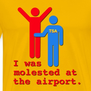 I Was Molested At The Airport T-Shirts - Men's Premium T-Shirt