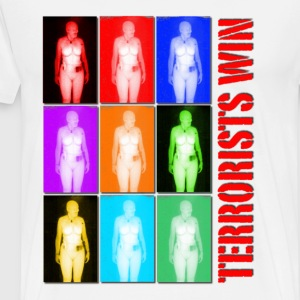 TSA Body Scan Terrorists Win T-Shirts - Men's Premium T-Shirt
