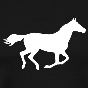 Horse Pony Riding Rider T-Shirts - Men's Premium T-Shirt