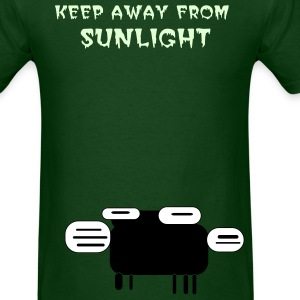 Keep Away From Sunlight ( Glows in the Dark) - Men's T-Shirt