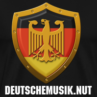 Design ~ DeutscheMusik.nut Mens Tshirt Black