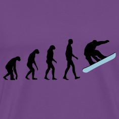evolution snowboard T-Shirts