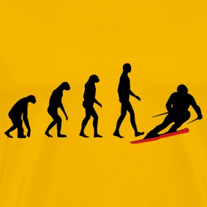 evolution ski T-Shirts - Men's Premium T-Shirt