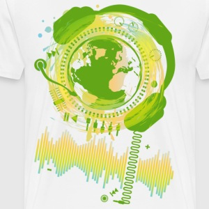Earth_Music - Men's Premium T-Shirt