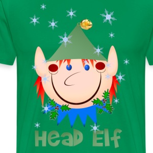 Head Elf - Men's Premium T-Shirt