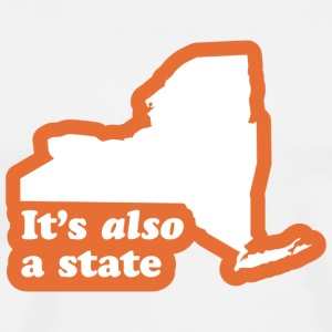 New York - Also a State T-shirt - Men's Premium T-Shirt