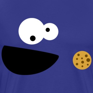 Cookie Monster - Male - Men's Premium T-Shirt