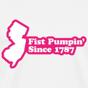 New Jersey - Fist Pumpin' Since 1787 T-shirt - Men's Premium T-Shirt