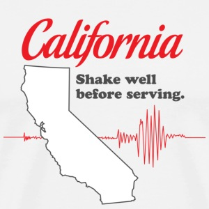 California - Shake Well T-shirt - Men's Premium T-Shirt