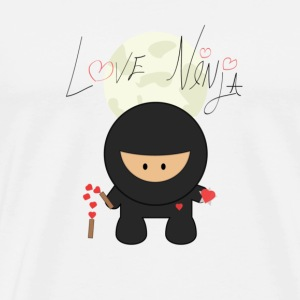 Love Ninja - Men's Premium T-Shirt