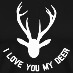 i love you my deer T-Shirts