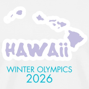 Hawaii Winter Olympics 2026 T-shirt - Men's Premium T-Shirt
