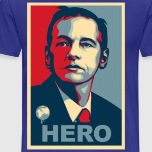 Assange Hero Wikileaks T-Shirts - Men's Premium T-Shirt
