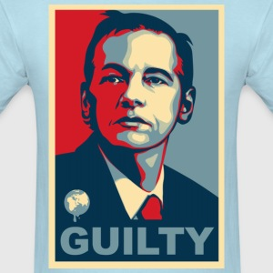 Assange Guilty Wikileaks T-Shirts - Men's T-Shirt