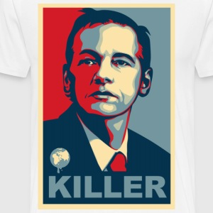 Assange Killer Wikileaks T-Shirts - Men's Premium T-Shirt