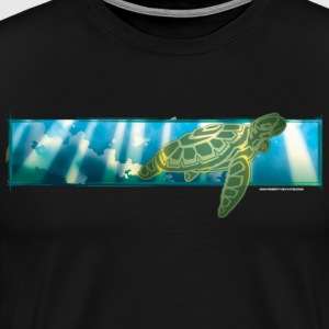 Hawaiian turtle  - Men's Premium T-Shirt