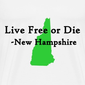 Live Free or Die - Men's Premium T-Shirt
