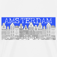 Design ~ Amsterdam Canal Houses Male Regular Fit