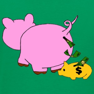 Piggy Bank - Men's Premium T-Shirt