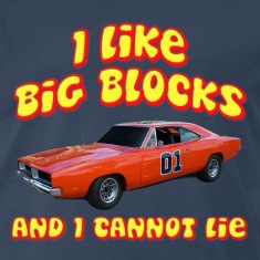 I Like Big Blocks Dodge Charger T-Shirts