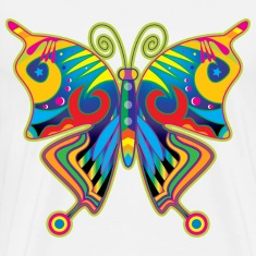 Hippy Butterfly T-Shirts