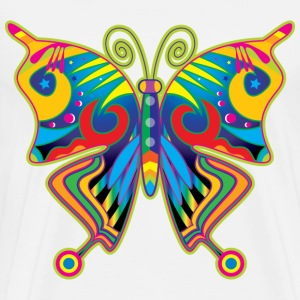Hippy Butterfly T-Shirts - Men's Premium T-Shirt