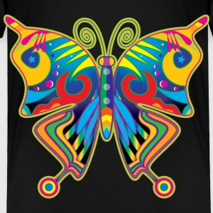 Hippy Butterfly Toddler Shirts - Toddler Premium T-Shirt