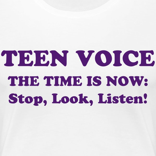 Teen Voice Plus Size Women's Shirt