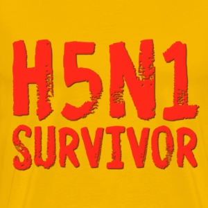 H5N1 Survivor Bird Flu T-Shirts - Men's Premium T-Shirt
